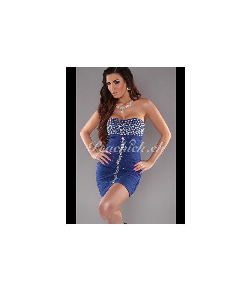 Kleid In Stylefashion Party Blautoutes Les Robes