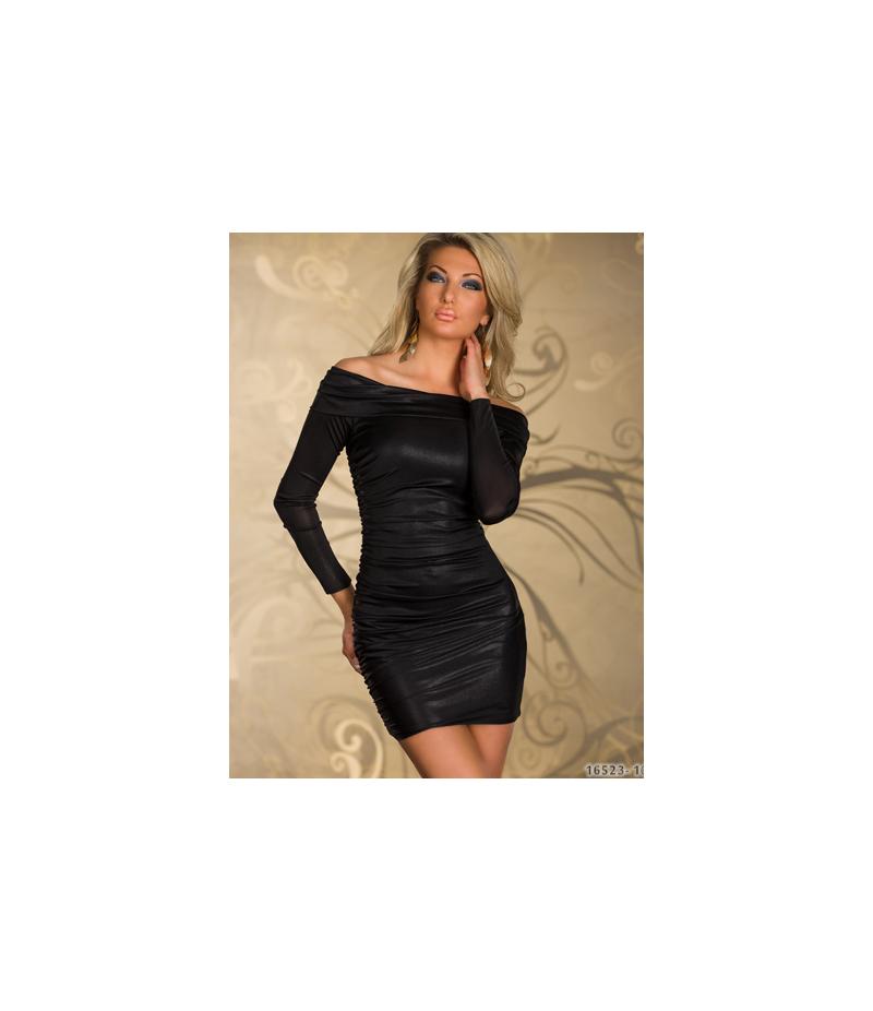 kleid goddess langarm schwarz all dresses. Black Bedroom Furniture Sets. Home Design Ideas