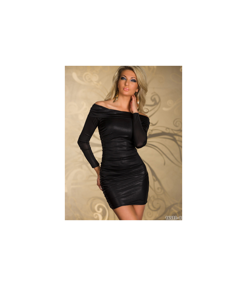 kleid goddess langarm schwarztoutes les robes. Black Bedroom Furniture Sets. Home Design Ideas