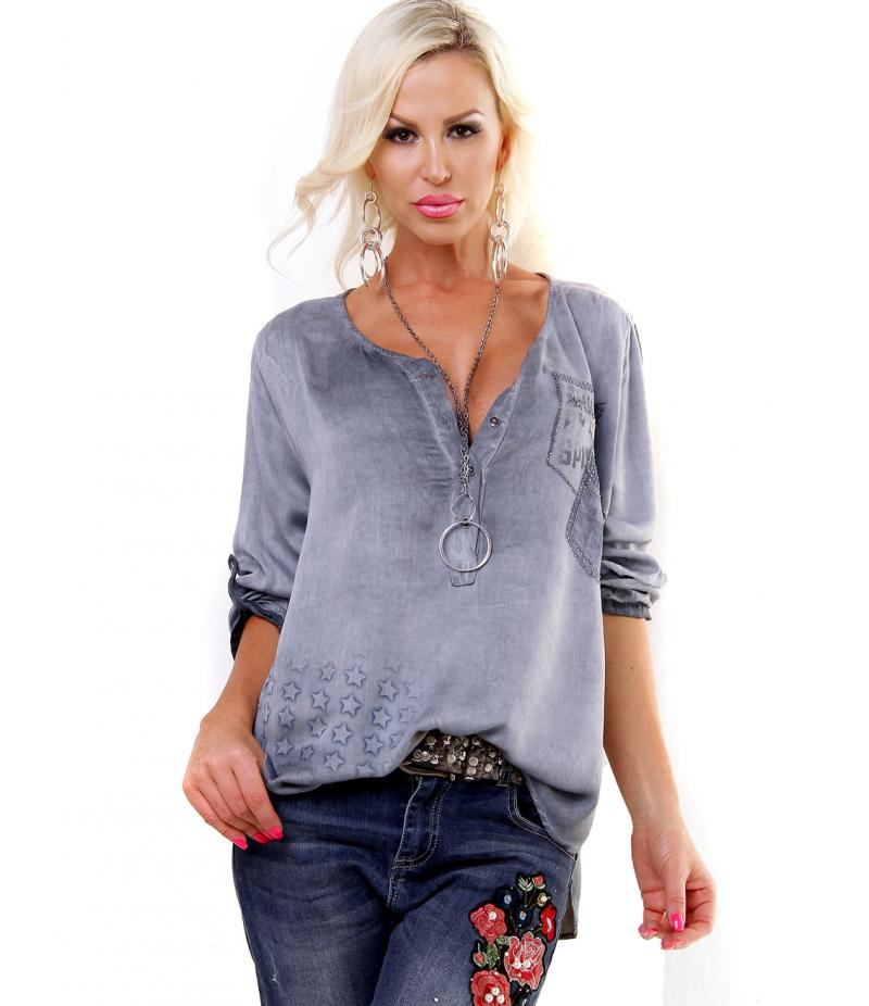 bluse 5people s dekosteine altrosa blouses. Black Bedroom Furniture Sets. Home Design Ideas