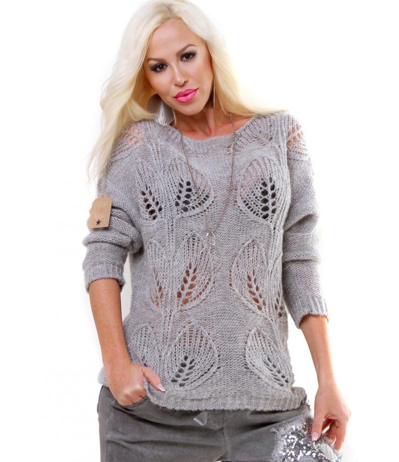Pullover mit Lochmuster | Knitting 2 | Pullover, Lochmuster