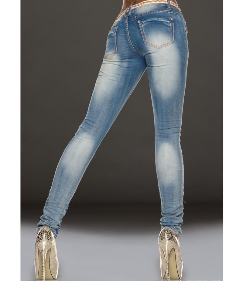 jeans madame stoffflicke hellblau jeans. Black Bedroom Furniture Sets. Home Design Ideas