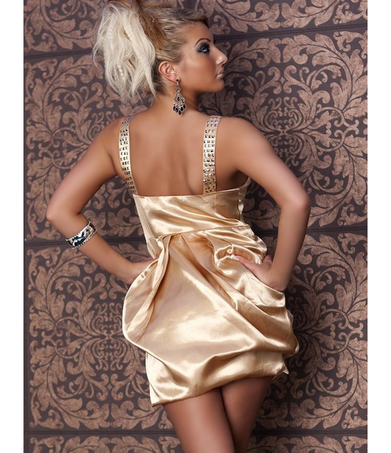 Kleid No Go - Balloon - Gold All Dresses