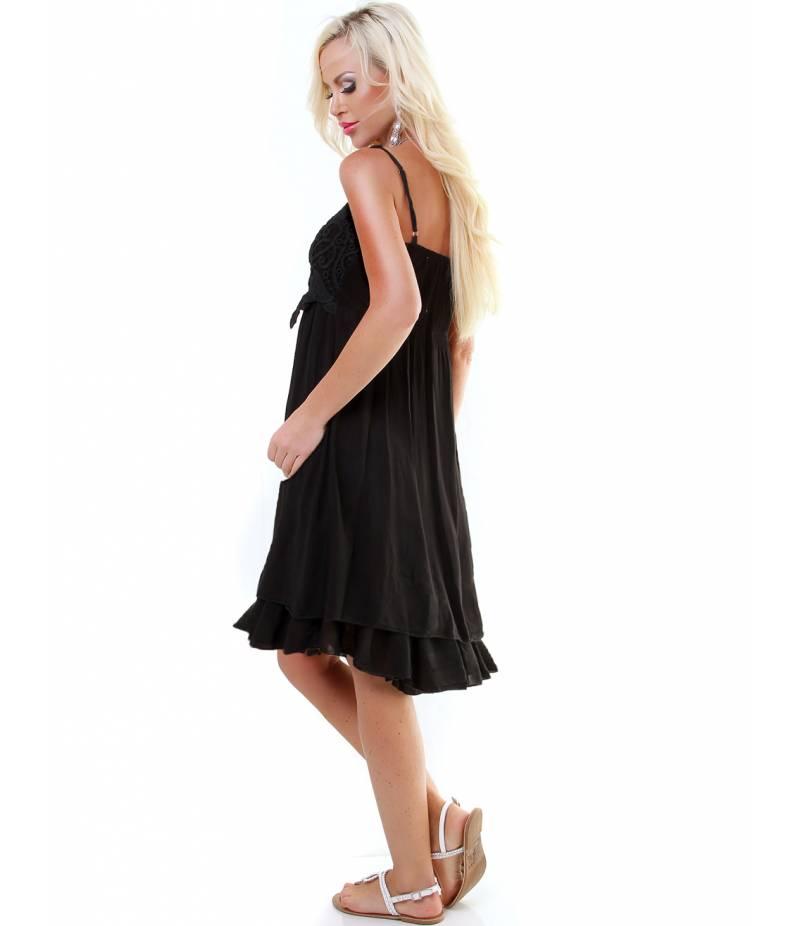 kleid bellina lagenlook schwarz all dresses. Black Bedroom Furniture Sets. Home Design Ideas