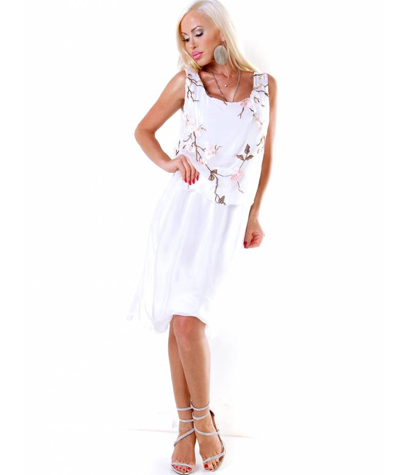 separation shoes 7490c df04f Kleid H Trend - Sommer - Weiss