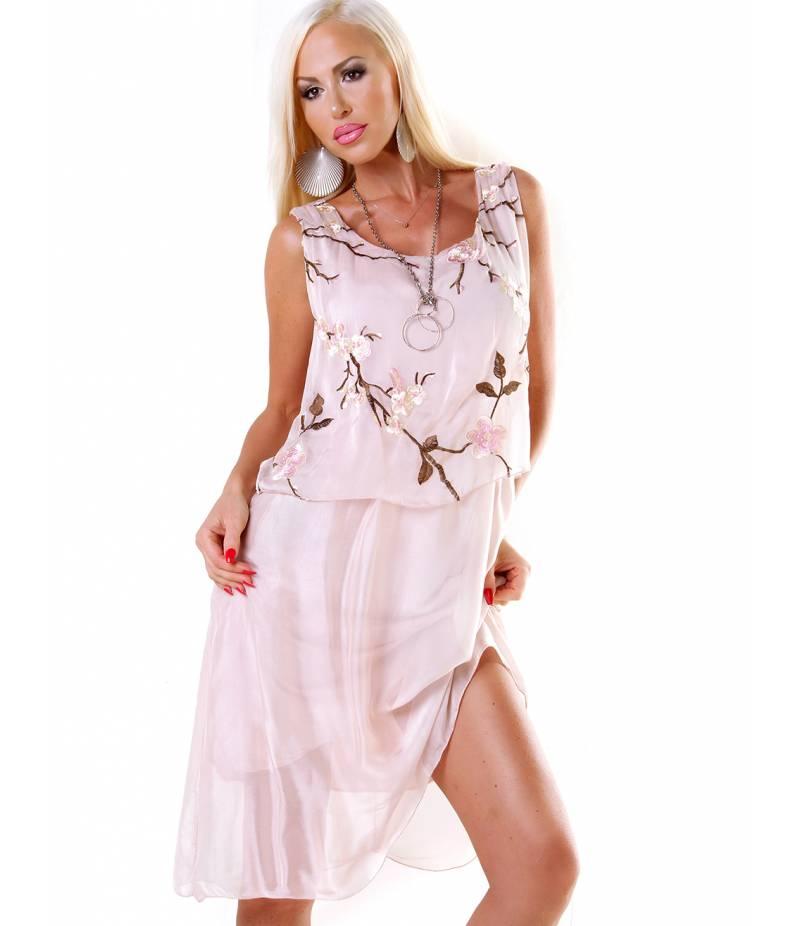 the latest 15711 ef1d8 Kleid H Trend - Sommer - Altrosa