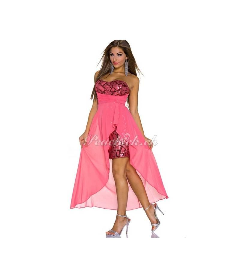 Kleid eva lola schleppe koralle all dresses - Festliche kleider koralle ...