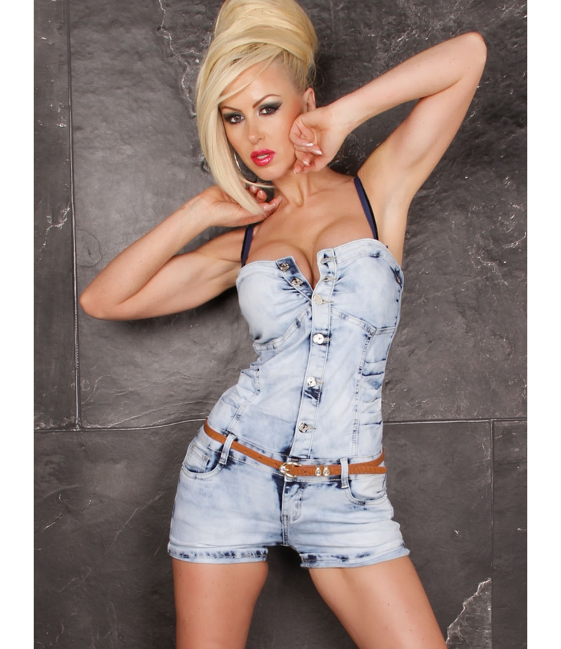 overall fashion lovers jeans blau overalls. Black Bedroom Furniture Sets. Home Design Ideas